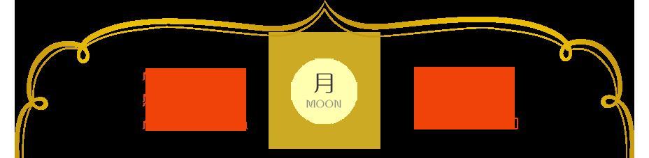 月のキーワード:心の傷を癒す 感情の解放 心の安定・安心 女性性 浄化と保護 サイキック能力